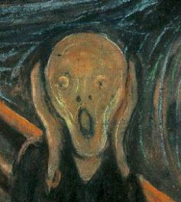 Edvard Munch's 'The Scream of Nature' sums it up pretty darn well